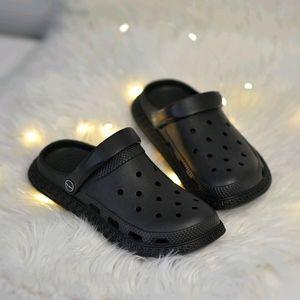 Brand New Black Clogs (Crocs dupe)